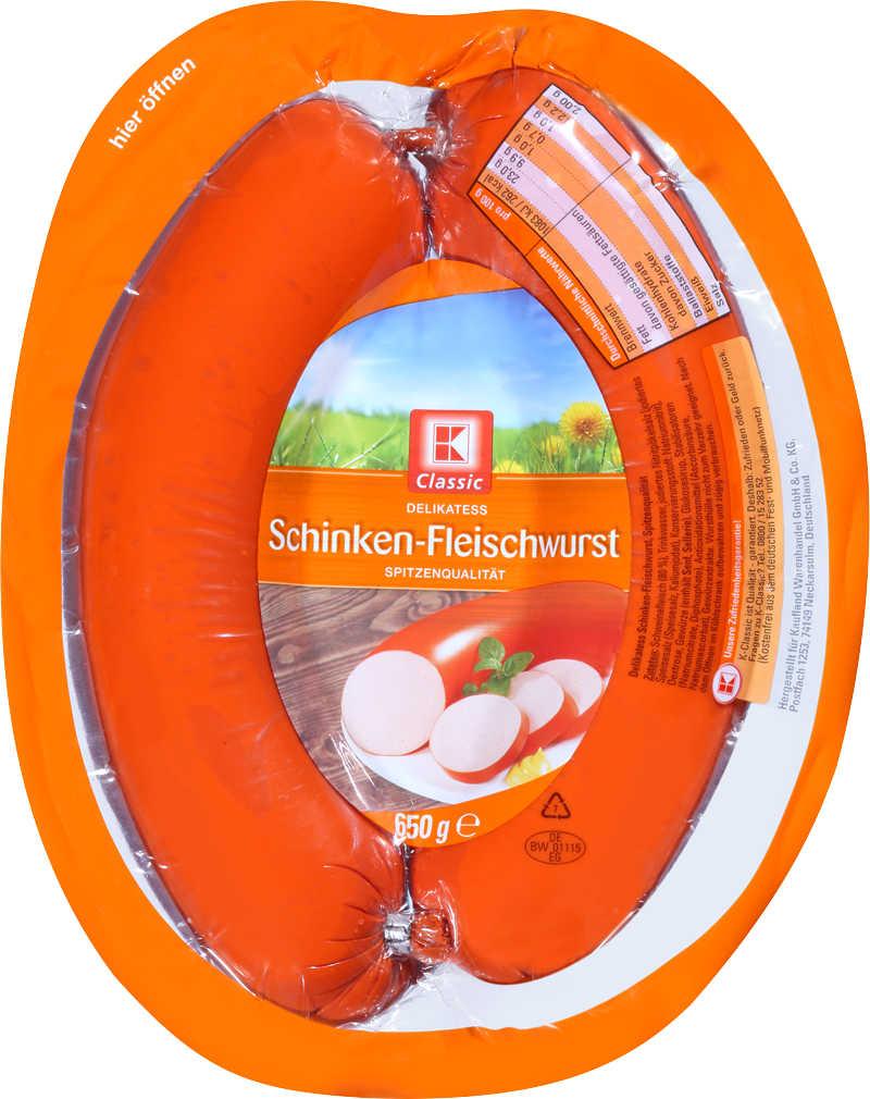 Abbildung des Angebots K-CLASSIC Schinkenfleischwurst