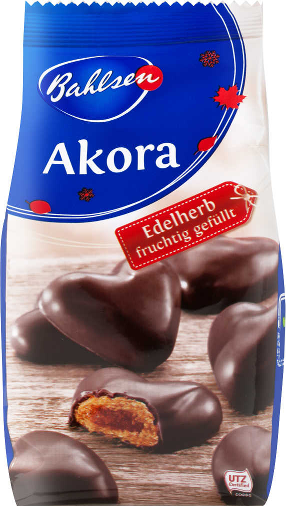 Abbildung des Angebots BAHLSEN Akora Lebkuchen-Herzen