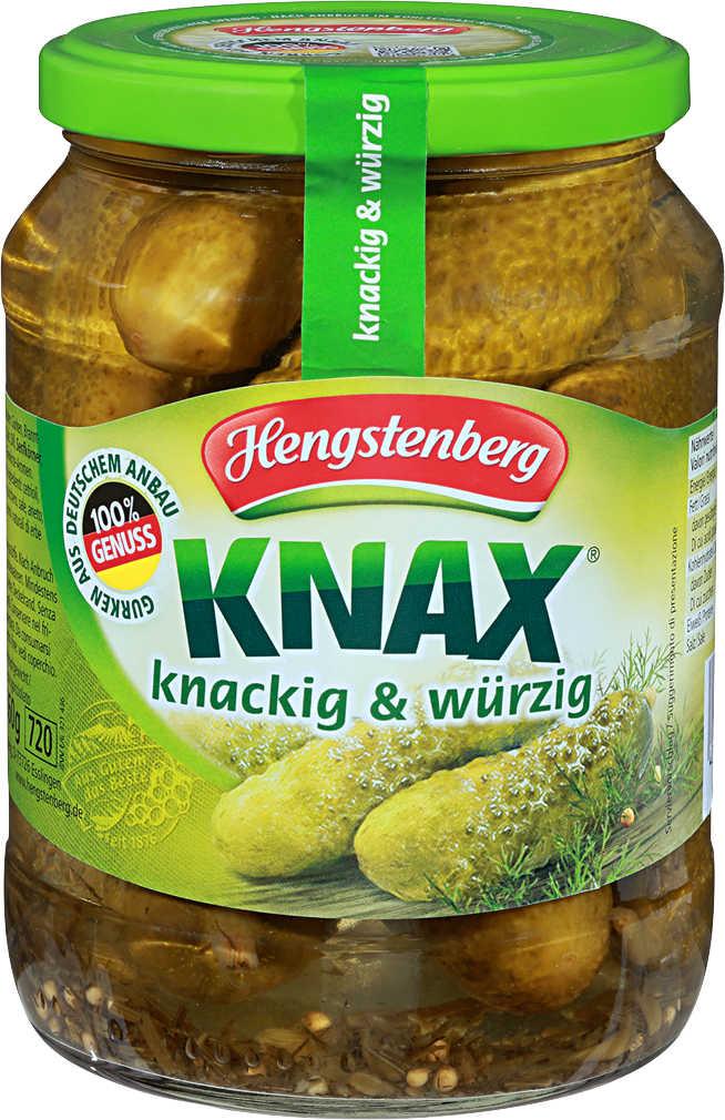 Abbildung des Angebots HENGSTENBERG Knax Gewürzgurken