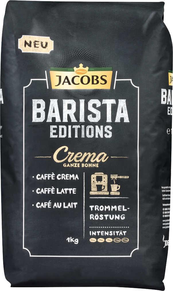 Abbildung des Angebots JACOBS Barista Crema oder Espresso