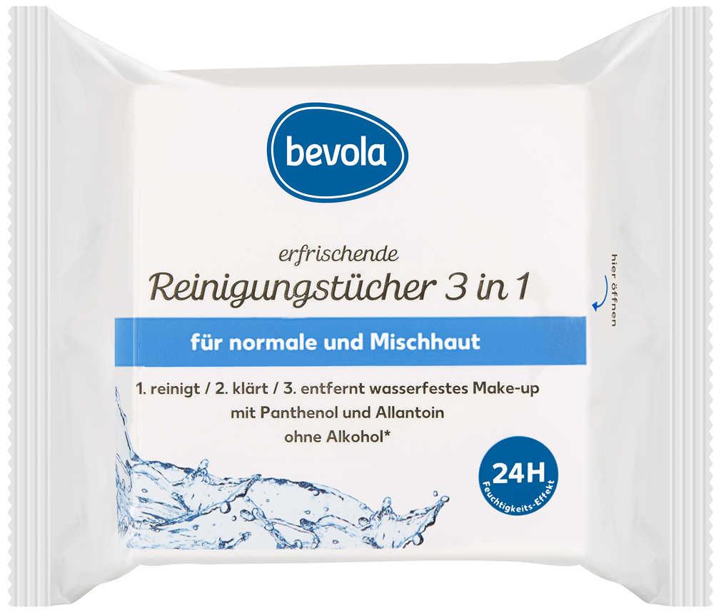 Abbildung des Angebots BEVOLA Reinigungstücher 3 in 1