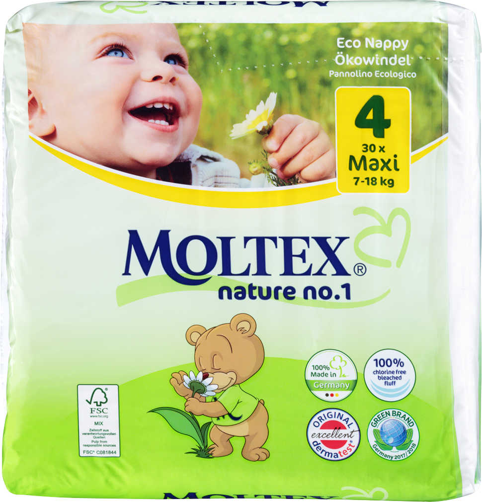 Abbildung des Angebots MOLTEX Nature No. 1 Öko-Windeln