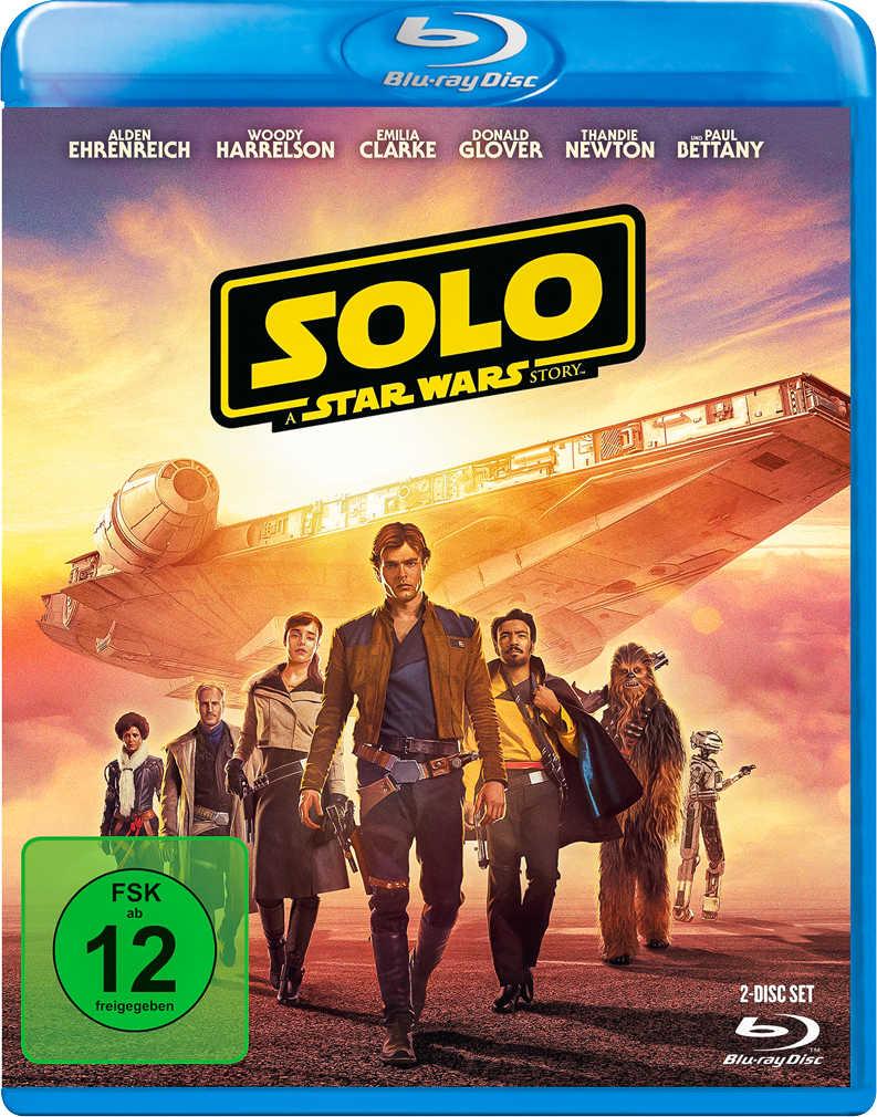 Abbildung des Angebots Blu-ray »Solo: A Star Wars Story«