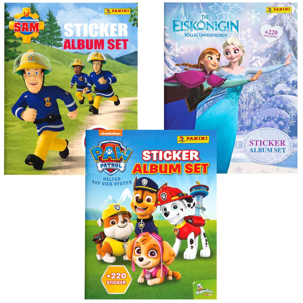 Abbildung des Angebots Sticker-Album-Set