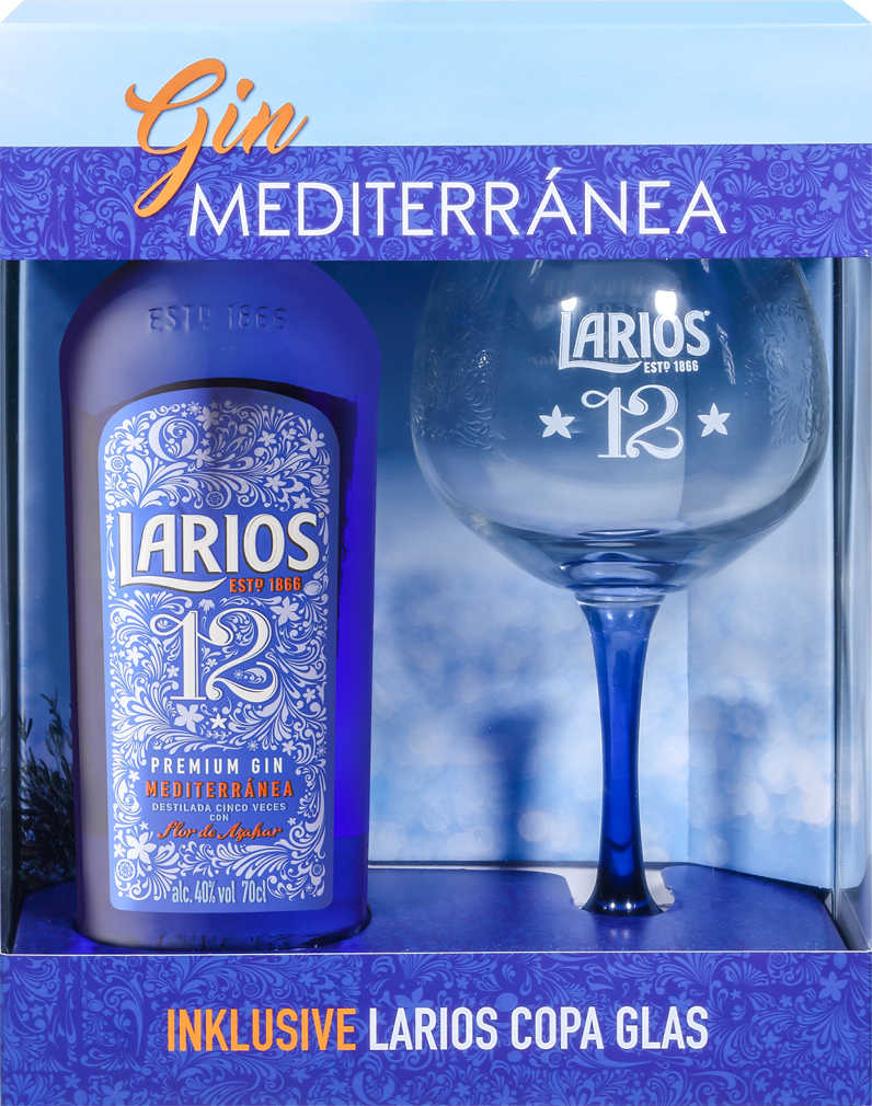 Abbildung des Angebots LARIOS 12 oder LARIOS ROSÉ Premium Gin Mediterranea