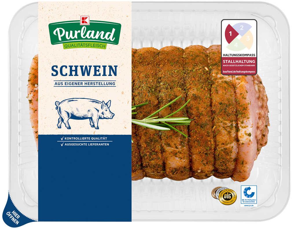 Abbildung des Angebots K-PURLAND Gourmetbraten vom Schwein, gefüllt und gewürzt