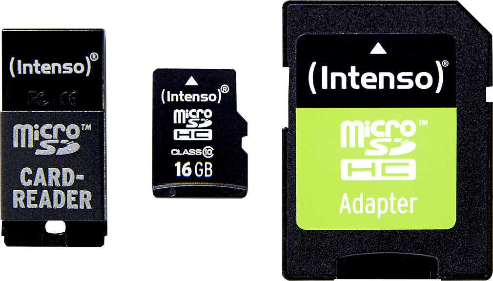 Abbildung des Angebots INTENSO microSDHC-Adapter-Set