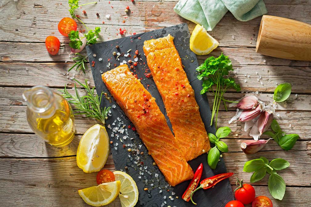 Abbildung des Angebots Lachsforellenfilet Zitronenpfeffer o. Kräuter
