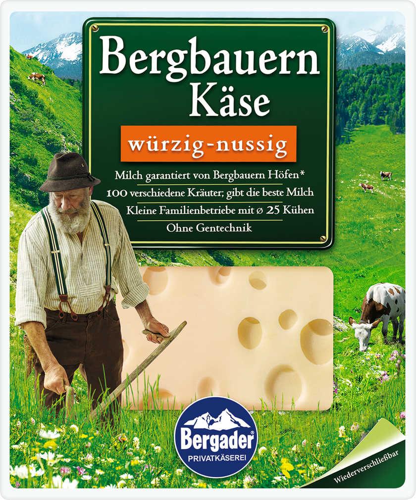 Abbildung des Angebots BERGADER Bergbauernkäse