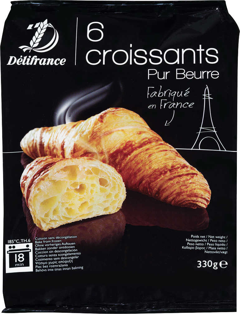 Abbildung des Angebots DÉLIFRANCE Croissants