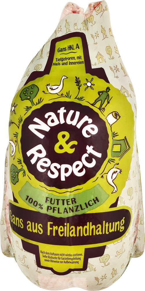 Abbildung des Angebots NATURE & RESPECT Freiland-Gans