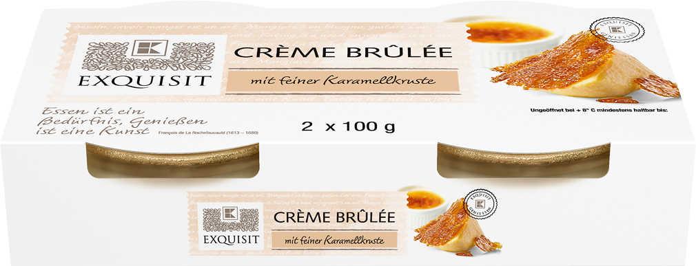 Abbildung des Angebots EXQUISIT Crème Brûlée