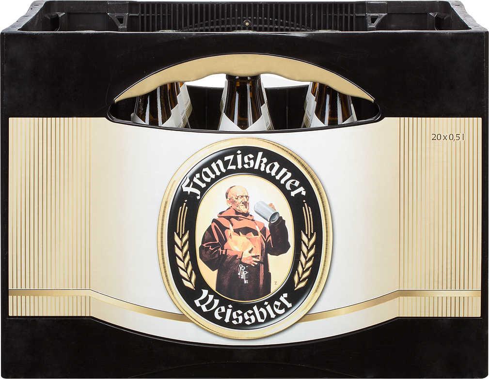 Abbildung des Angebots FRANZISKANER Hefeweissbier hell