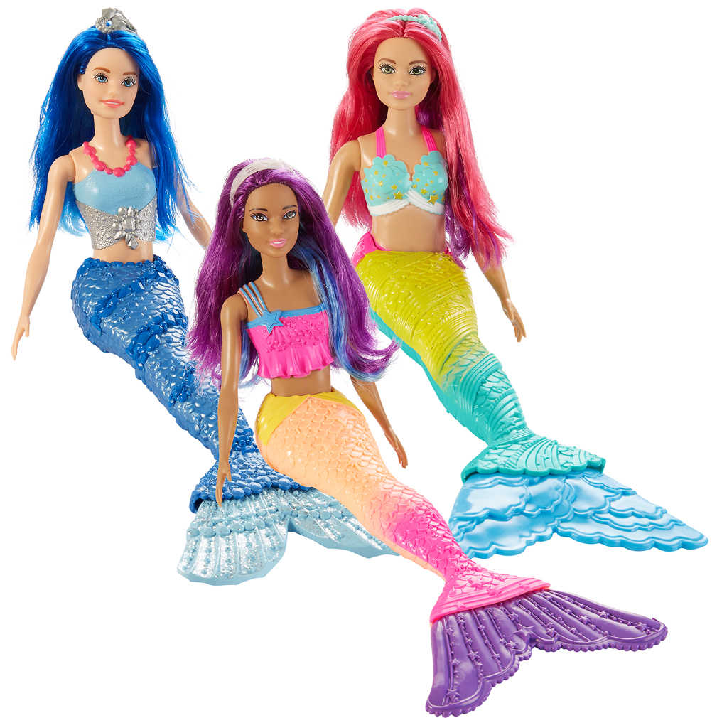 Abbildung des Angebots MATTEL Barbie Dreamtopia Meerjungfrau