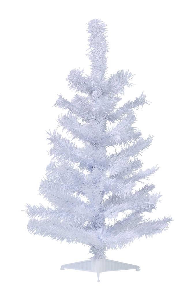 Abbildung des Angebots Tannenbaum weiß Größe ca. 60 cm