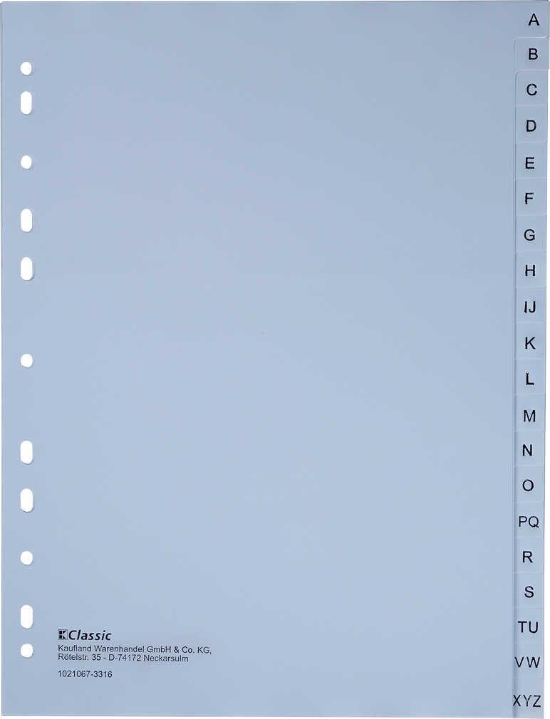 Abbildung des Angebots K-CLASSIC Kunststoff-Register