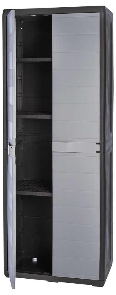 Abbildung des Angebots Kunststoffschrank Größe ca. 65 x 38 x 171 cm