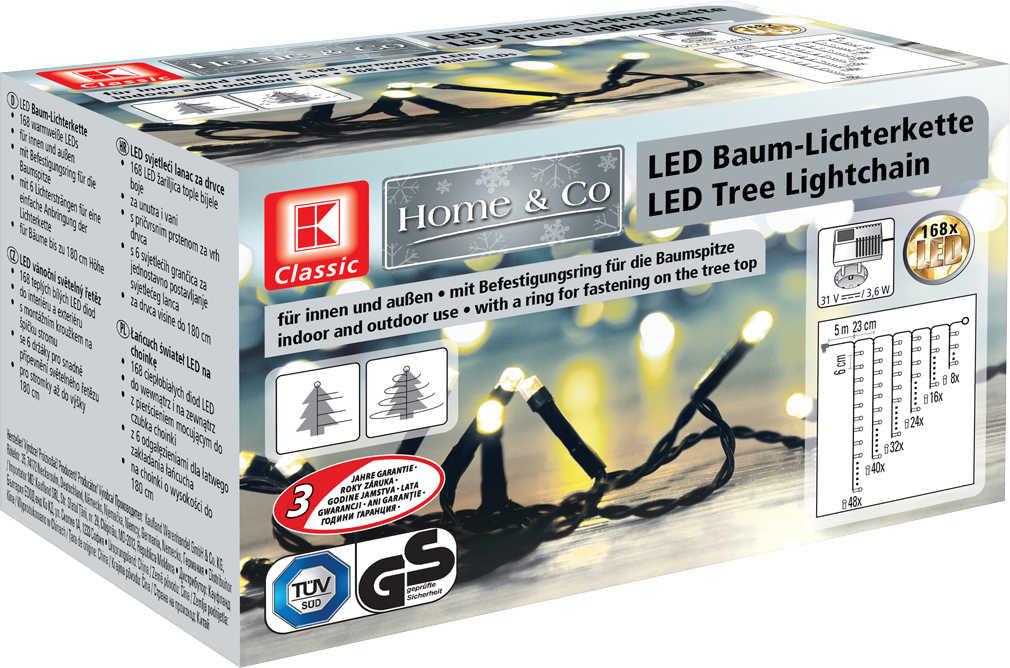 Abbildung des Angebots K-CLASSIC LED-Baum-Lichterkette mit 168 LEDs