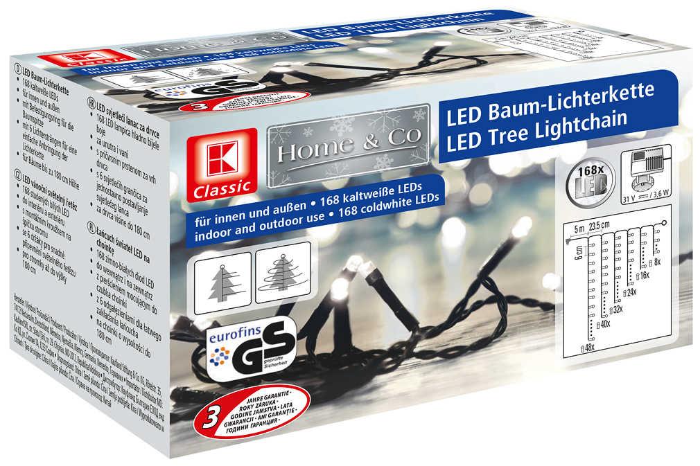 Abbildung des Angebots LED-Baum-Lichterkette für außen
