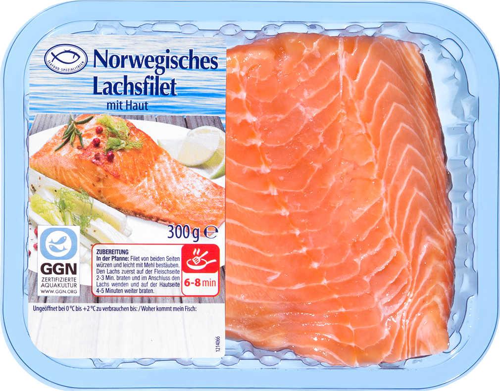 Abbildung des Angebots Norwegisches Lachsfilet