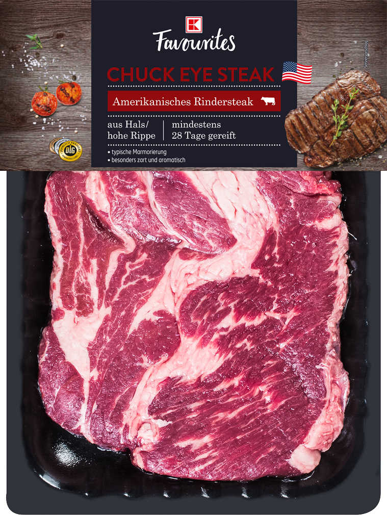 Abbildung des Angebots K-FAVOURITES Amerikan. Chuck Eye Steak