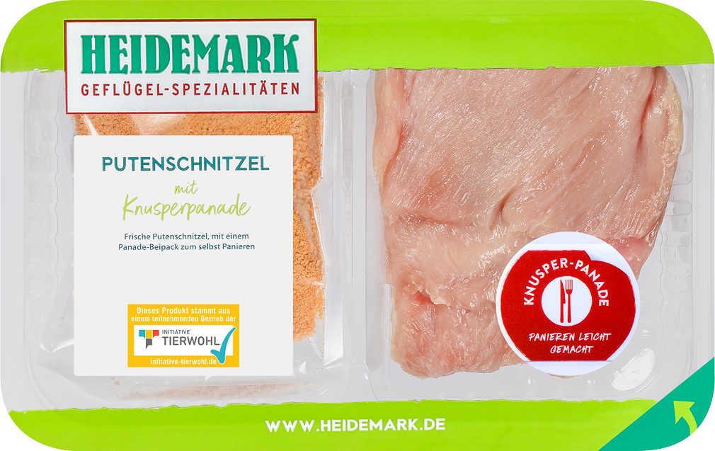 Abbildung des Angebots HEIDEMARK Putenschnitzel mit Knusperpanade