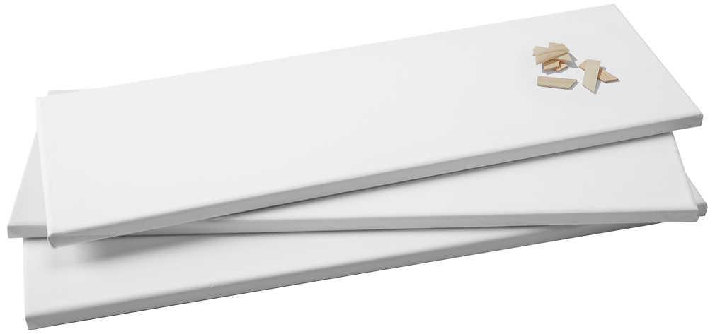 Abbildung des Angebots Canvas-Leinwände Größe je ca. B 60 x H 20 cm
