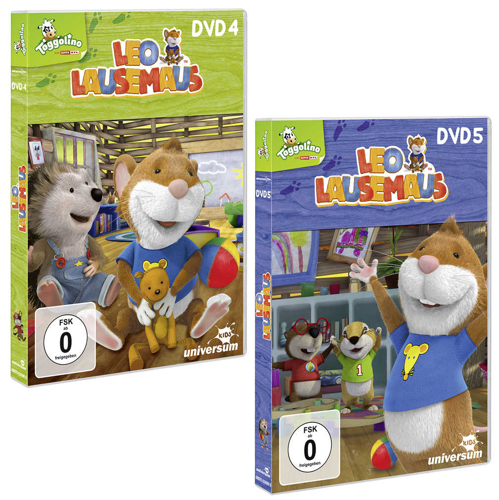 Abbildung des Angebots DVD »Leo Lausemaus«