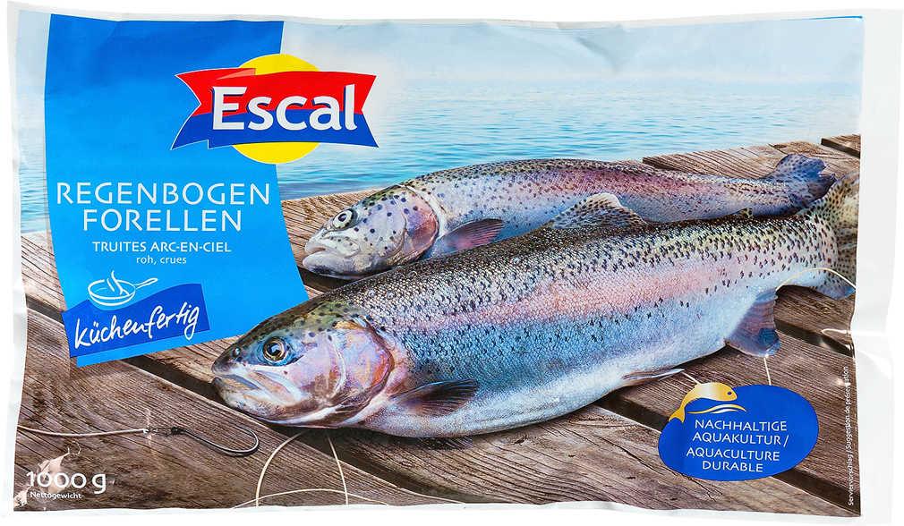 Abbildung des Angebots ESCAL Regenbogen-Forellen