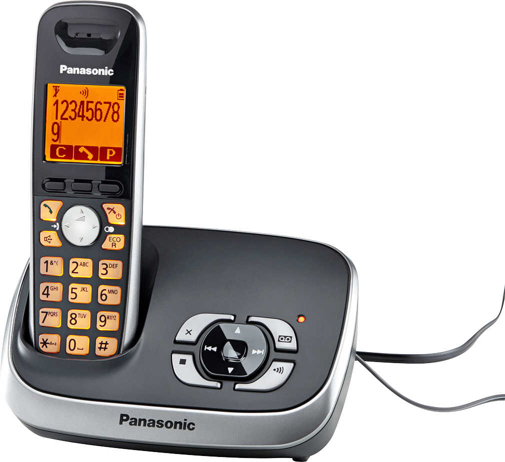 Abbildung des Angebots PANASONIC Digitales Schnurlos-Telefon »KX-TG6521«