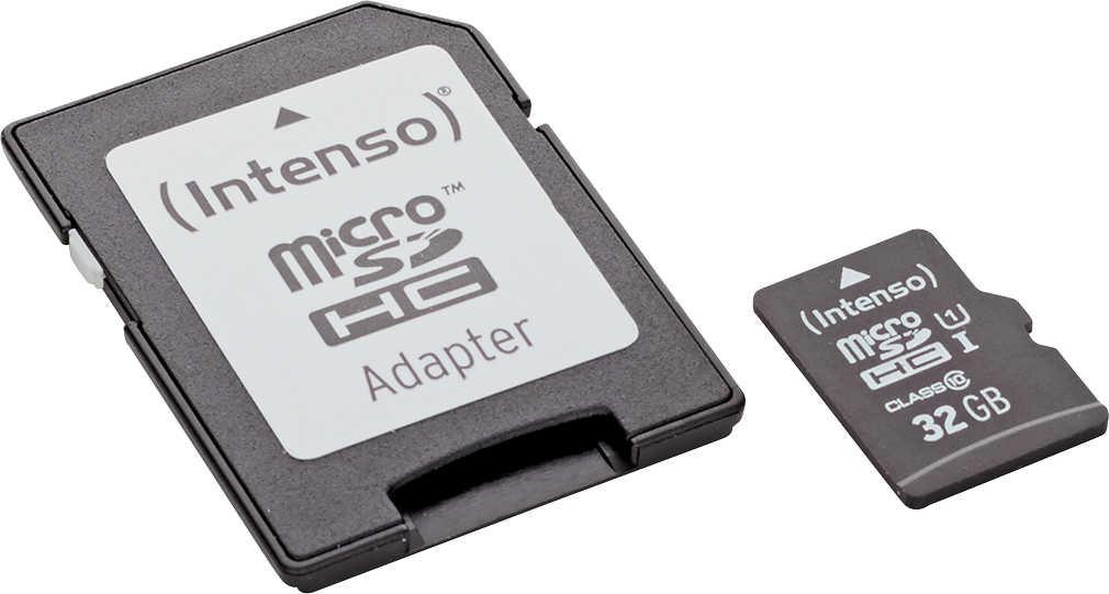 Abbildung des Angebots INTENSO Micro-SDHC-Speicherkarte »UHS-I«