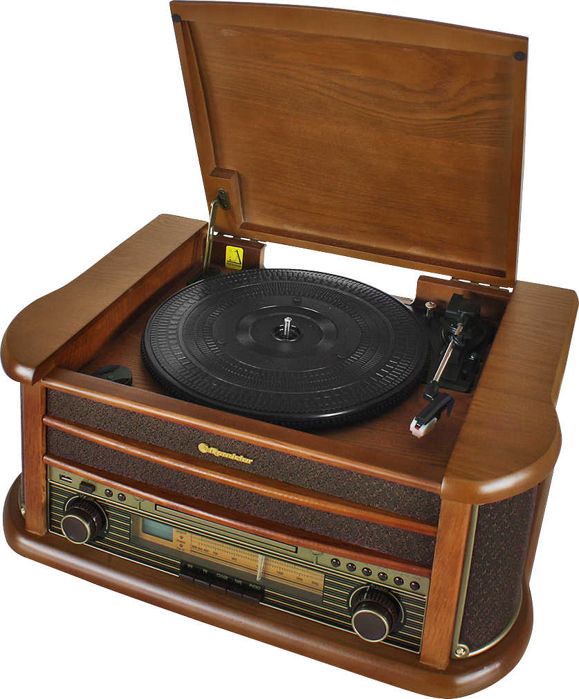 Abbildung des Angebots ROADSTAR Retro-Stereo-Anlage mit Plattenspieler