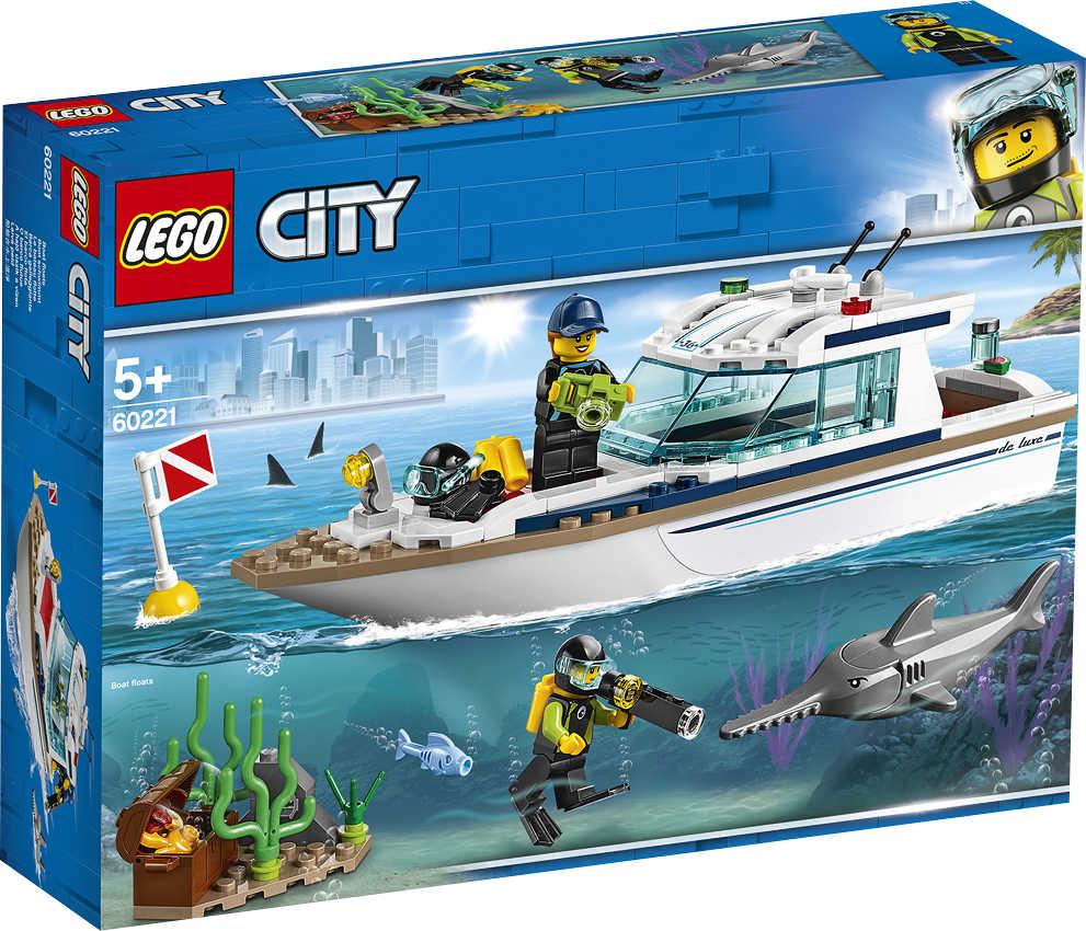 Abbildung des Angebots LEGO CITY Bauset 60221 »Tauchyacht«