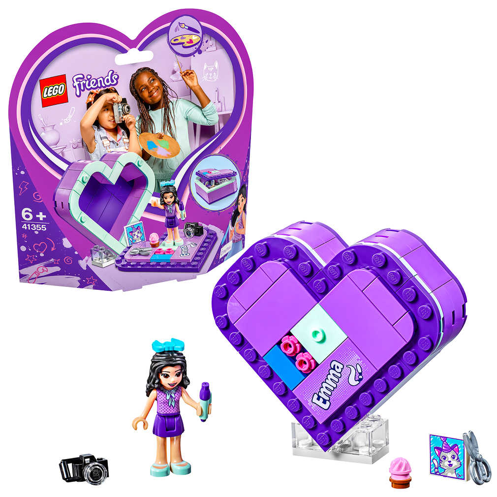 Abbildung des Angebots LEGO FRIENDS Bauset »Emmas Herzbox«