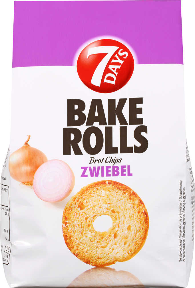Abbildung des Angebots 7 DAYS Bake Rolls Brotchips