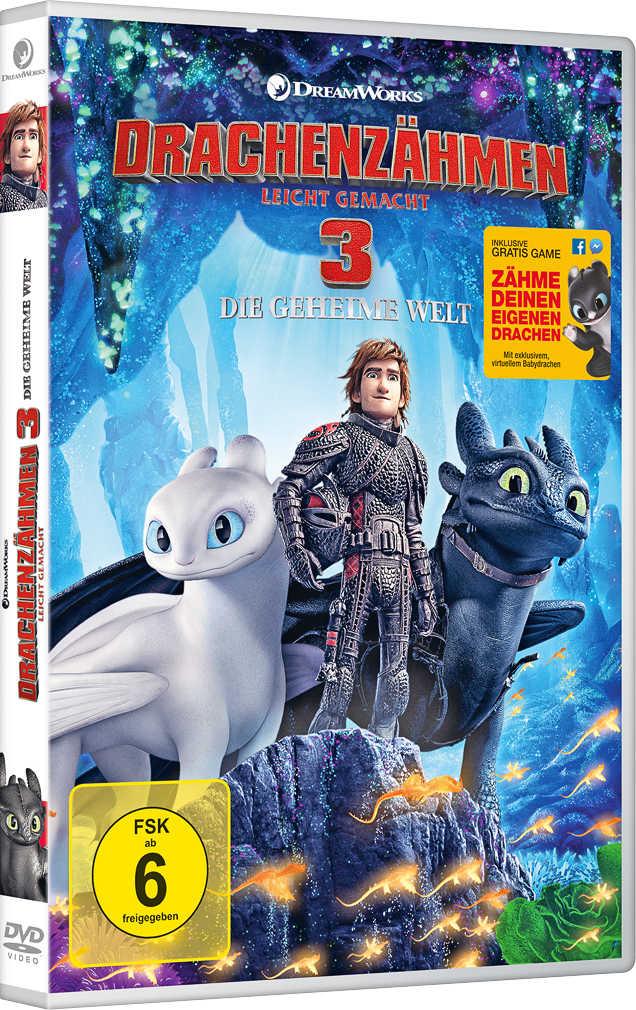 Abbildung des Angebots DVD Drachenzähmen leicht gemacht 3: die geheime Welt