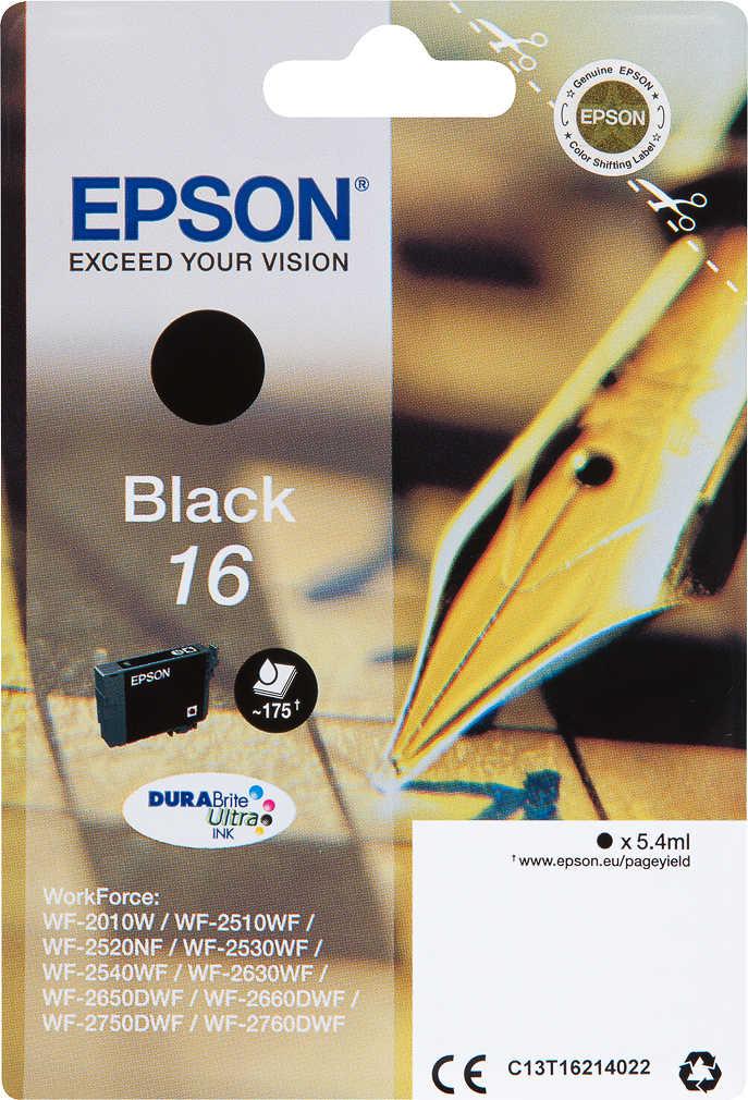 Abbildung des Angebots EPSON Druckerpatrone Nr. 16 Schwarz