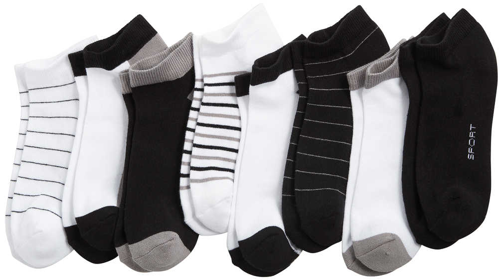 Abbildung des Angebots OYANDA® Damen-Sneakersocken mit Frotteesohle