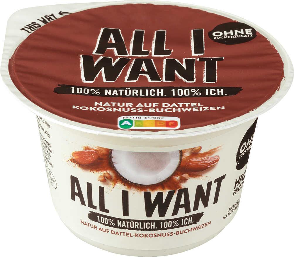 Abbildung des Angebots ALL I WANT Joghurt
