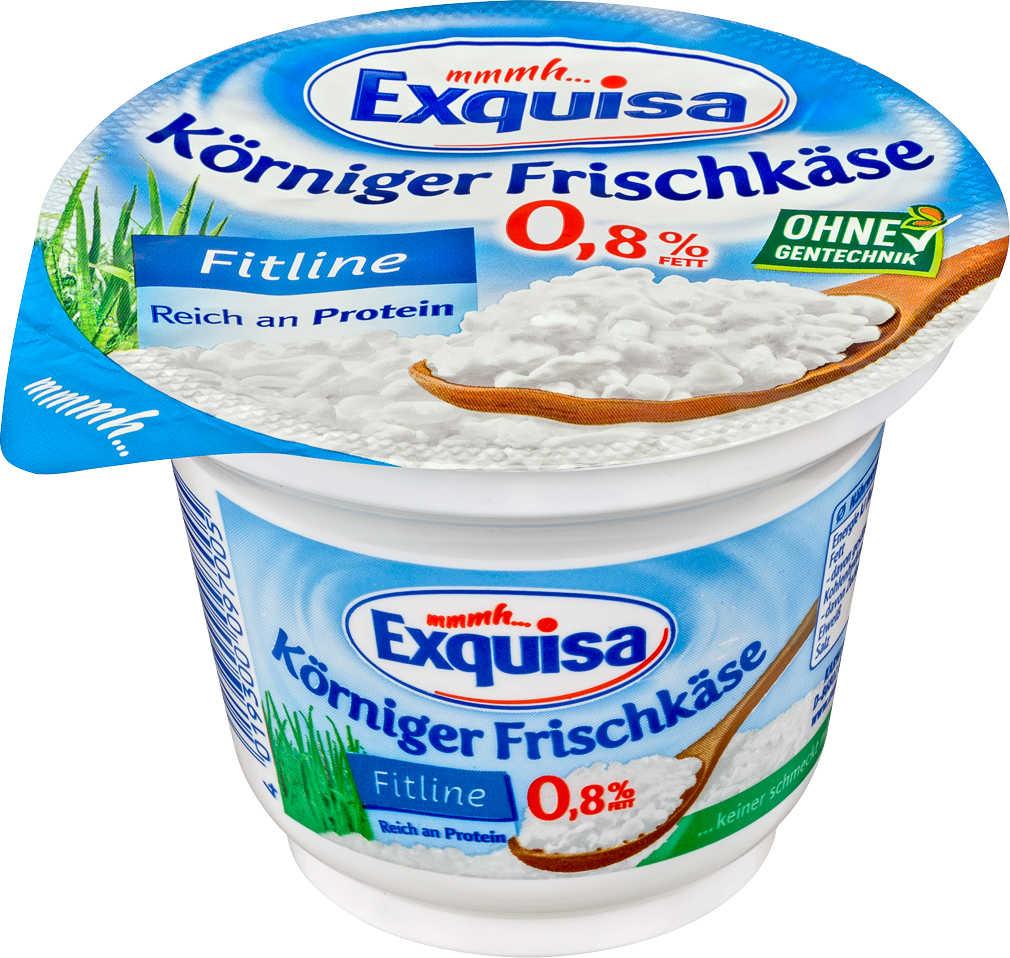 Abbildung des Angebots EXQUISA Körniger Frischkäse Fitline