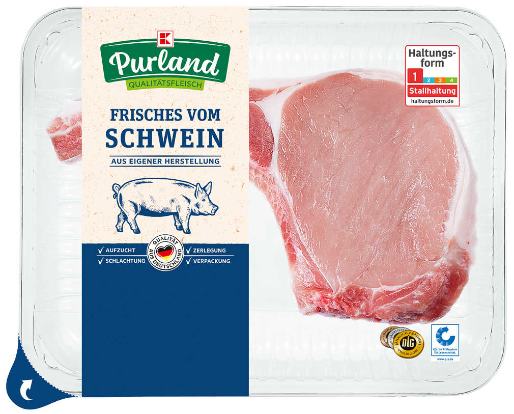 Abbildung des Angebots K-PURLAND XXL-Schweinekotelett