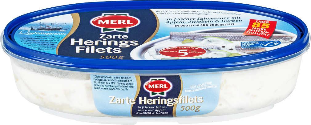 Abbildung des Angebots MERL Heringsfilets