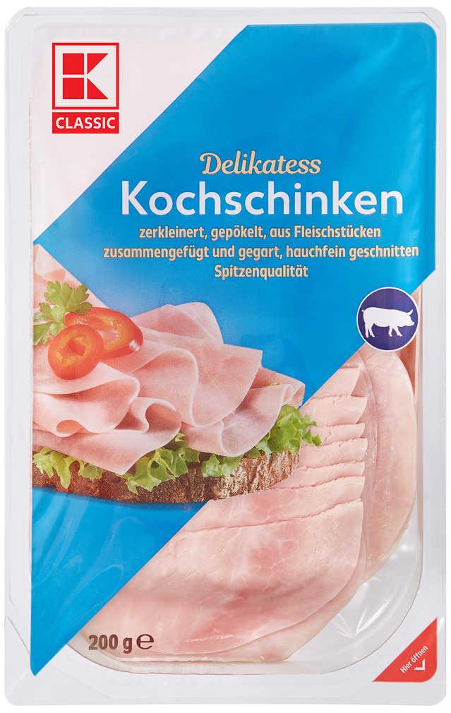 Abbildung des Angebots K-CLASSIC Kochschinken oder Hähnchenbrust