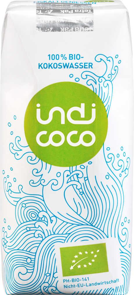 Abbildung des Angebots INDI COCO 100 % Bio-Kokoswasser