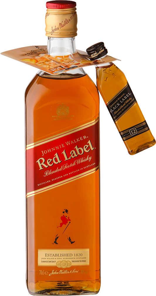 Abbildung des Angebots JOHNNIE WALKER RED LABEL Blended Scotch Whisky