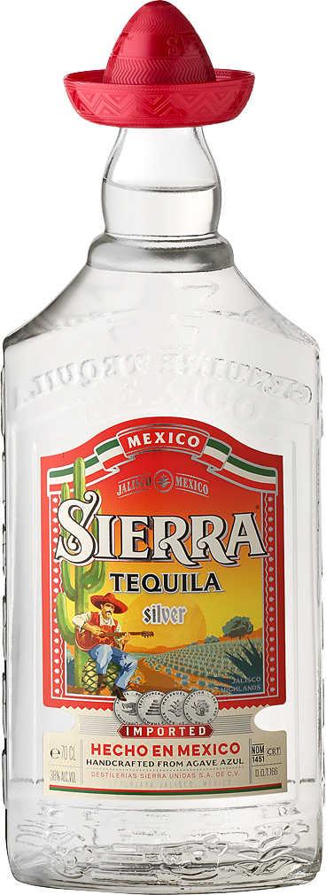 Abbildung des Angebots SIERRA TEQUILA Silver oder Reposado