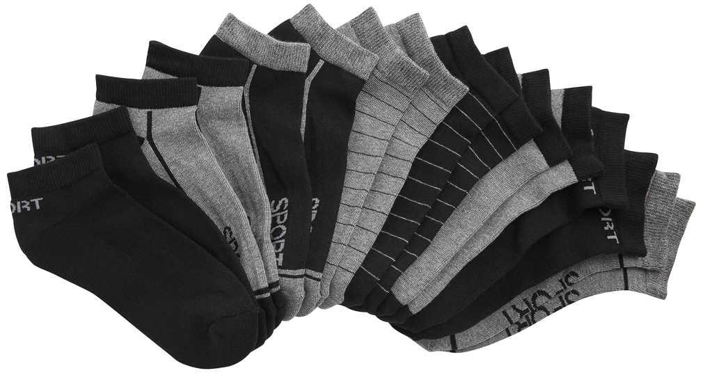 Abbildung des Angebots TOWNLAND® Herren-Sneakersocken mit Frotteesohle