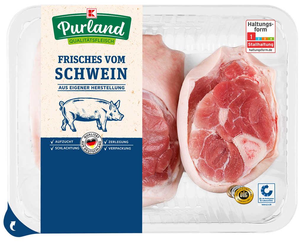 Abbildung des Angebots K-PURLAND Schinkeneisbein/Grillhaxe