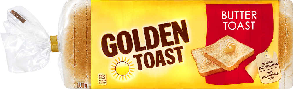 Abbildung des Angebots GOLDEN TOAST Toastbrot