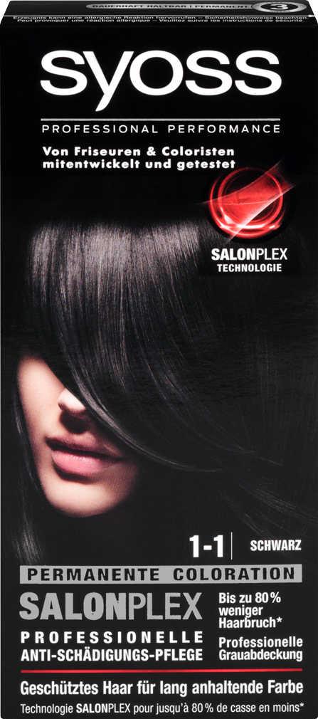Abbildung des Angebots SYOSS Haarcoloration o. Aufheller